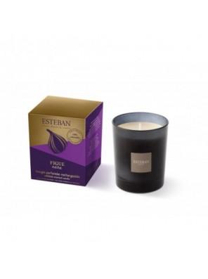 Bougie Parfumée Figue Noire Rechargeable 170 G