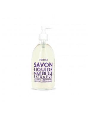 Savon liquide de Marseille 495 ml Lavande Aromatique